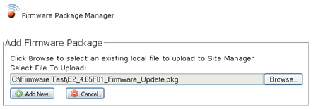 Firmware Package Management